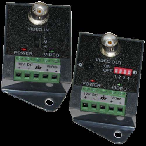 Комплект Активный приемник-передатчик HD камер видеонаблюдения по витой паре TSt-1U01AR+TSt-1U01AT