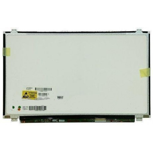 "Матрица для ноутбука 15,6"" Samsung, LTN156AT06-A01, LED, 40pin, HD (1366x768), SLIM, глянцевая, уши вверх-вниз, разъем справа"