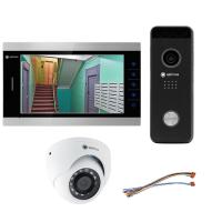 Комплект видеодомофона для квартиры Premium 10.1˝ TFT - 2.1Мп (камера)