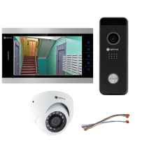 Комплект видеодомофона для дома Premium 10.1˝ TFT - 2.1Мп (камера)