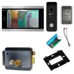 Комплект видеодомофона для склада Premium 10.1˝ TFT - 2.1Мп (электромеханический замок, считыватель)