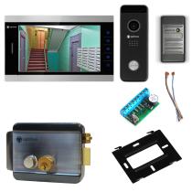 Комплект видеодомофона для дома Premium 10.1˝ TFT - 2.1Мп (электромеханический замок, считыватель)