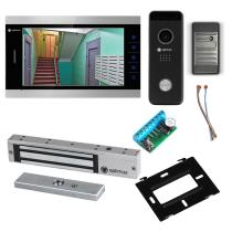Комплект видеодомофона для склада Premium 10.1˝ TFT - 2.1Мп (электромагнитный замок, считыватель)