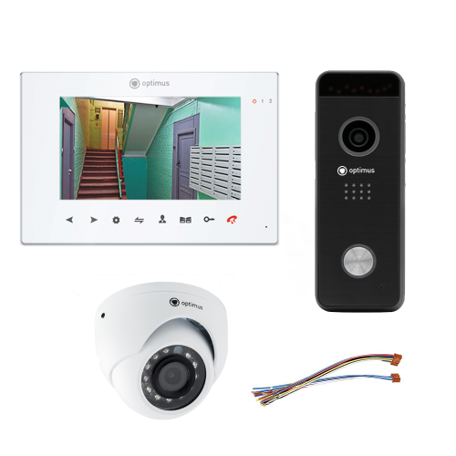 Комплект видеодомофона для офиса Premium 7˝ TFT - 2.1Мп (камера)