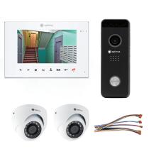 Комплект видеодомофона для офиса Premium 7˝ TFT - 2.1Мп (2*камера)
