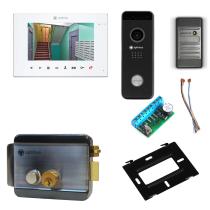 Комплект видеодомофона для квартиры Premium 7˝ TFT - 2.1Мп (электромеханический замок, считыватель)