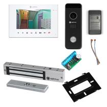 Комплект видеодомофона для склада Premium 7˝ TFT - 2.1Мп (электромагнитный замок, считыватель)