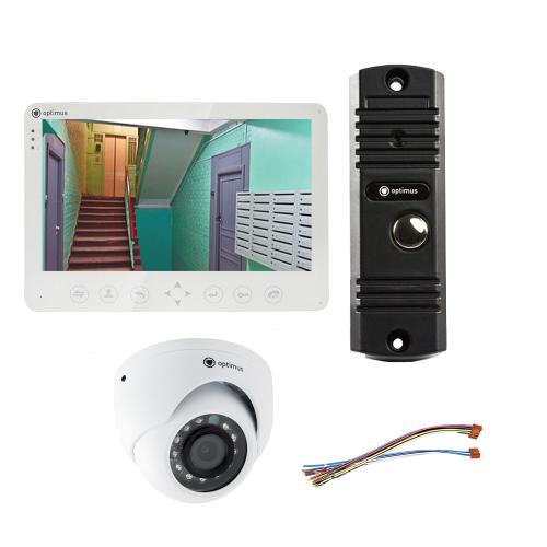 Комплект видеодомофона для дачи Light 10.1˝ TFT - 1Мп (камера)