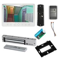 Комплект видеодомофона для склада Light 10.1˝ TFT - 1Мп (электромагнитный замок, считыватель)