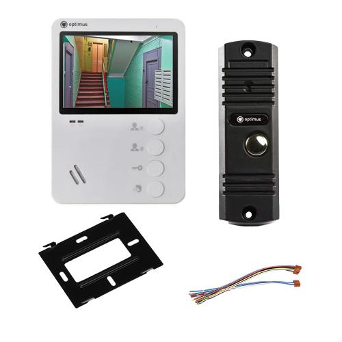 Комплект видеодомофона для квартиры Light 4.3˝ TFT - 0.3Мп