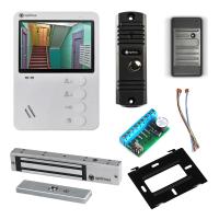Комплект видеодомофона для дома Light 4.3˝ TFT - 0.3Мп (электромагнитный замок, считыватель)
