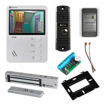 Комплект видеодомофона для дачи Light 4.3˝ TFT - 0.3Мп (электромагнитный замок, считыватель)