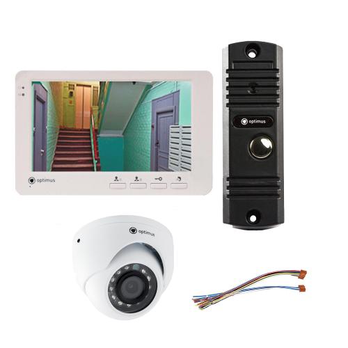 Комплект видеодомофона для офиса Light 7˝ TFT - 1Мп  (камера)