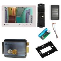 Комплект видеодомофона для склада Light 7˝ TFT - 1Мп  (электромеханический замок, считыватель)