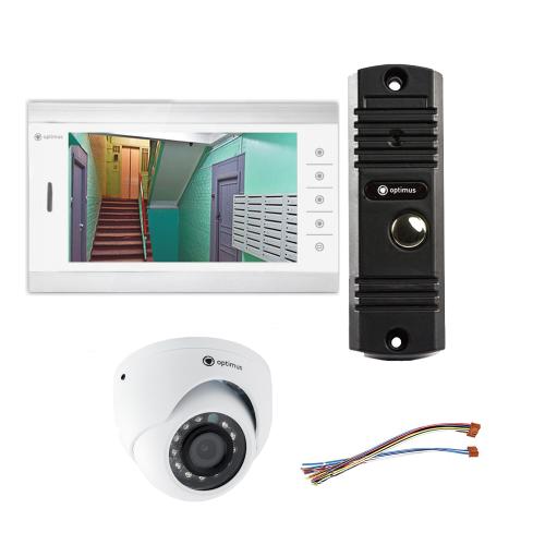 Комплект видеодомофона для дачи Standart 10.1˝ TFT - 1Мп (камера)