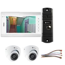 Комплект видеодомофона для дома Standart 10.1˝ TFT - 1Мп (2*камера)
