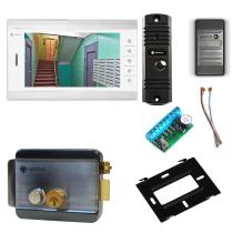 Комплект видеодомофона для квартиры Standart 10.1˝ TFT - 1Мп (электромеханический замок, считыватель)