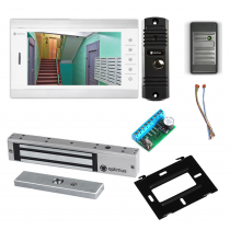 Комплект видеодомофона для квартиры Standart 10.1˝ TFT - 1Мп (электромагнитный замок, считыватель)