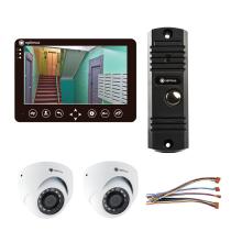 Комплект видеодомофона для дачи Standart 7˝ TFT - 1Мп (2*камера)