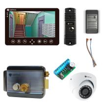 Комплект видеодомофона для склада Standart 7˝ TFT - 1Мп (электромеханический замок, считыватель, камера)