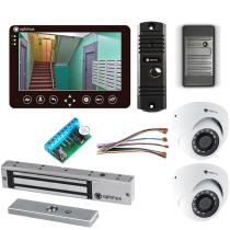Комплект видеодомофона для склада Standart 7˝ TFT - 1Мп (электромагнитный замок, считыватель, 2*камера)