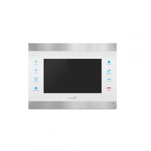 Видеодомофон Slinex SL-07IP серебро+белый