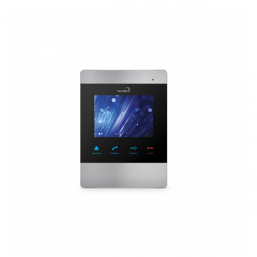 Видеодомофон Slinex SM-04M серебро