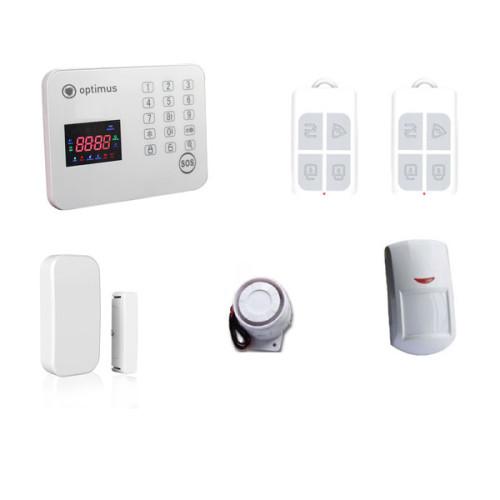 Беспроводная охранная GSM сигнализация Optimus AG-200 (комплект)