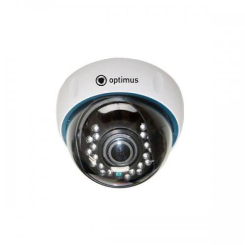 Купольная AHD Камера видеонаблюдения Optimus AHD-H024.0(2.8-12)