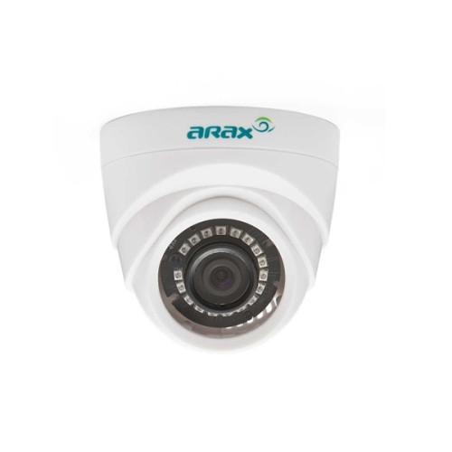 Купольная AHD Камера видеонаблюдения Arax RAD-100-Bir