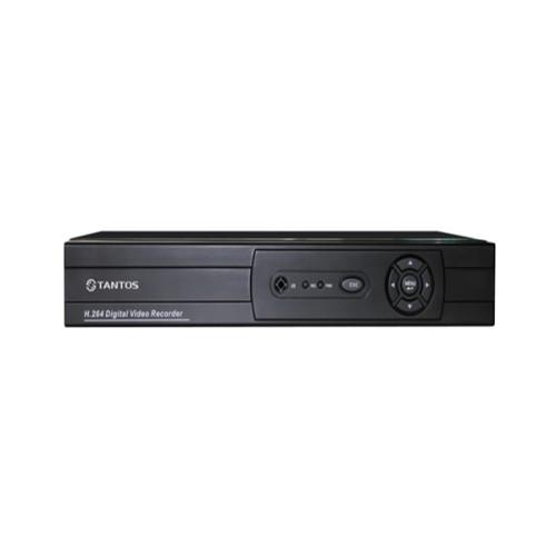 Видеорегистратор для AHD камер видеонаблюдения Tantos TSr-HV0411 Forward