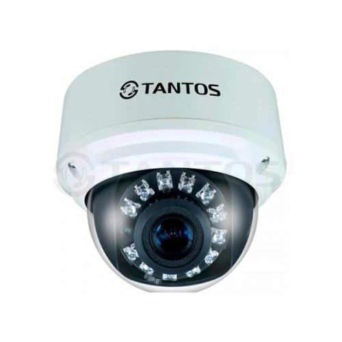 Купольная IP Камера видеонаблюдения Tantos TSi-DV211V (3.3-12)