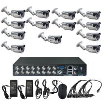 Комплект видеонаблюдения для дачи на 13 уличных камер - AHD 1Мп 720P