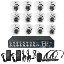 Комплект видеонаблюдения для квартиры на 12 камер для помещения - AHD 1Мп 720P