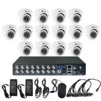 Комплект видеонаблюдения для магазина на 14 камер для помещения - AHD 1Мп 720P