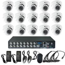 Комплект видеонаблюдения для квартиры на 15 камер для помещения - AHD 1Мп 720P