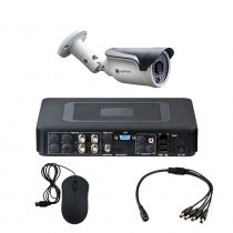 Комплект видеонаблюдения для магазина на 1 уличную камеру - AHD 1Мп 720P