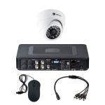 Комплект видеонаблюдения для магазина на 1 камеру для помещения - AHD 1Мп 720P