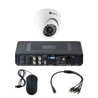 Комплект видеонаблюдения для дома на 1 камеру для помещения - AHD 1Мп 720P