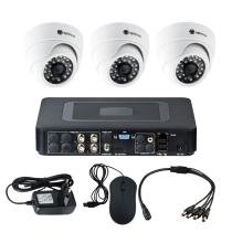 Комплект видеонаблюдения для квартиры на 3 камеры для помещения - AHD 1Мп 720P