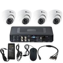 Комплект видеонаблюдения для офиса на 4 камеры для помещения - AHD 1Мп 720P