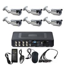 Комплект видеонаблюдения для дома на 6 уличных камер - AHD 1Мп 720P
