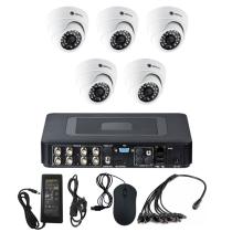 Комплект видеонаблюдения для дома на 5 камер для помещения - AHD 1Мп 720P