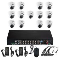 Комплект видеонаблюдения для квартиры на 13 камер для помещения - AHD 5Мп 1952P