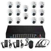 Комплект видеонаблюдения для склада на 14 камер для помещения - AHD 2.1Мп 1080P