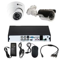 Комплект видеонаблюдения для дома на 2 камеры - AHD 2.1Мп 1080P (1 камера помещение/1 камера улица)