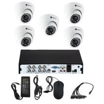 Комплект видеонаблюдения для склада на 5 камер для помещения - AHD 5Мп 1952P