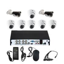 Комплект видеонаблюдения для магазина на 8 камер - AHD 5Мп 1952P (6 камер помещение/2 камеры улица)