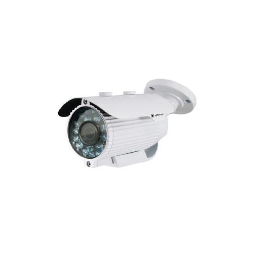 Цилиндрическая AHD Камера видеонаблюдения Optimus AHD-H012.1(2.8-12) (36 диодов)