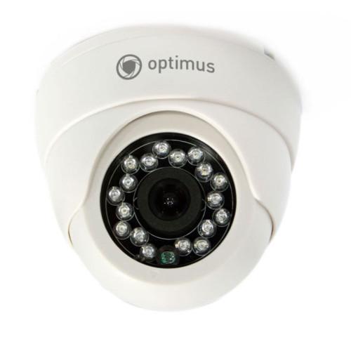 Купольная AHD Камера видеонаблюдения Optimus ID-736s